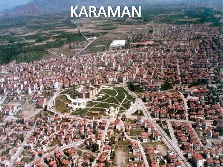 Tokat - Karaman uçak bileti